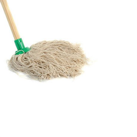 CBS1963-14-ply-Cord-Mop-and-Wooden-Handle